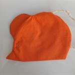 Little Mouse Bag. Scrunched nose. Orange/Purple.