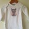 WINTER CLEARANCE - Girls Long Sleeve owl Tshirt Size 0