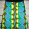 Blue/Green/Brown Skirt with  Bamboo Stretch Waist