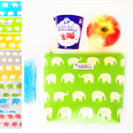 Insulated Snack Bag / Lunch Bag / Baby Bottle Case - Choose Your Elephant Colour