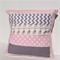 Baby Pink & Grey Monkey Nursery Cushion Cover