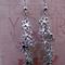 Silver Daisy Chain Earrings