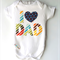New Dad 1st Fathers Day Fathers Day Dad Onesie Singlet