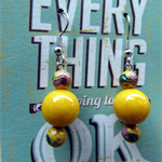 Mellow Yellow Earrings