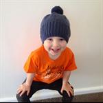 Boy's beanie hand knitted woollen girl's winter hat children's beanies