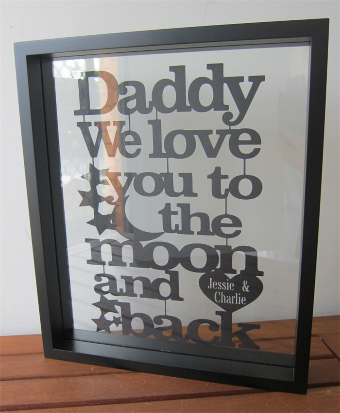 Mothers Day Personalised Love You To the Moon & Back ...