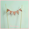Fabric Cake Bunting/Cake Topper