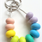 Donut Bead Teething Necklace