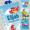 Planes, Trains & Automobiles Fabric Growth Height Chart 30x106cm