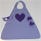 Girls Heart Super Hero Set (purple)