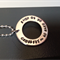 names / own message personalised necklace, crossfit washer