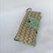 XL Nappy Wallet // 4 pockets // green zigzag