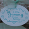 A Little Yummy for your Tummy Gift Tags