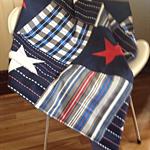 Boys Nursery Cot Quilt & Cushion Set - 'Nautical'