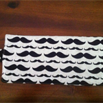 Moustache Crayon Roll