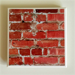 1 x Ceramic Tile Drink Coaster Brick Wall Man Gift