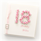 18th birthday card gift boxed pink