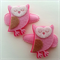 Felt Owl Hair Clip- Set of 2