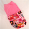 Pink Owl Swaddle, sleeping bag