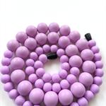 Washable Silicone Necklace - Original Round Beads