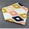 Bandana Dribble Bib - Mexican Tiles