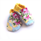 Pink and Yellow Floral Baby Shoes  - for Hayley!