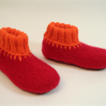 "Felted Wool Slippers ""European Style"""