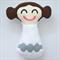 Princess Leia Rattle Toy