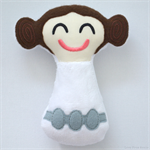 Princess Leia Rattle Toy