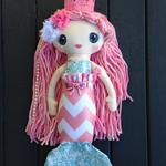 Pink Mermaid Doll