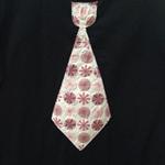 Size 6 Boys Appliqued Tshirt Floral Tie