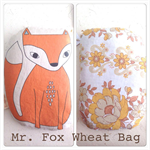 Fox Wheat Bag - Illustrated by Rondelle Douglas