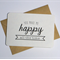 You make me happy gift card