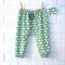 Soft Elephant Harem Pants - boy, toddler, winter, trousers, cute, sage