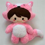 Pink Frankie Fox Kid Soft Toy
