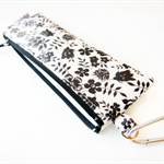 Insulin Pen Case Pouch with Inside Pockets - Liberty of London Edenham (Black)