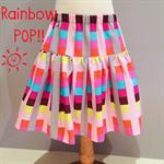 Rainbow Pop Twirling Skirt