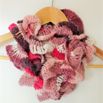 Curly Wurly Crochet Scarf