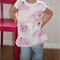 'Pink Trees' Pinafore Wrap - Sizes: 3, 4 & 5