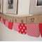 Christmas advent calender bunting made to order