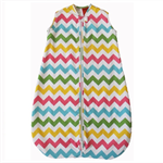 Girl Chevron Baby Sleeping Bag 0-6 months 1.0 tog READY MADE