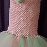 TuTu Dress Pink & Mint Sparkle