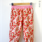 Size 2 Girls Harem Pants in Red Paisley Scrumptious