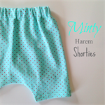 Minty Harem Shorties