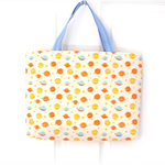 Spaceships and Planets Yellow Carry All Tote Bag