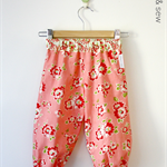 Girls Harems in Peach Scrumptious - Size 1