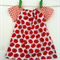 Red Apples with Red Spots Peasant dress - Baby, Girl, Newborn, Toddler