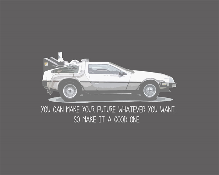 Home Decor Print 8x10 Back To The Future Quote Wall Art Childrens