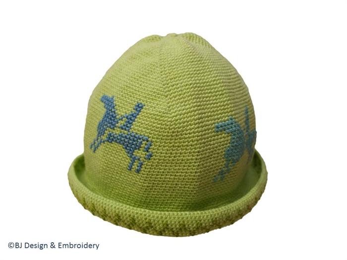 Cotton Crochet Hat (6-12 months)