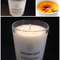 Creme Brulee Soy Candle - hand poured, 33 hour burn time